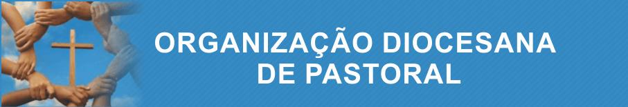 ORGANIZAÇÃO DIOCESANA DE PASTORAL
