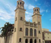 imagem frente santuário - Santuário Senhor do Bonfim