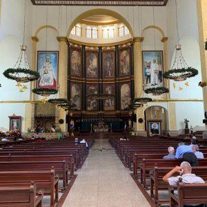 Interior da Catedral de El Salvador